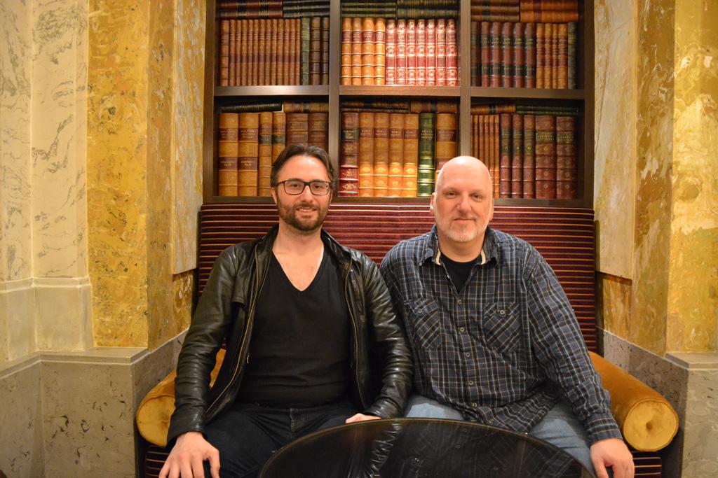 Mario R. Lackner und Oliver Rau