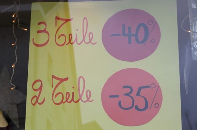 Verbrauchertipp: Winterschussverkauf