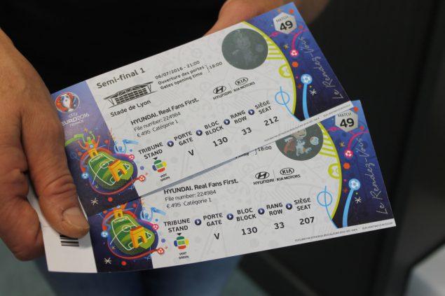 Tickets Halbfinale Em