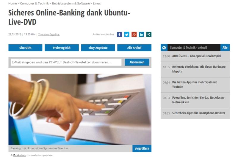 Sicheres Banking