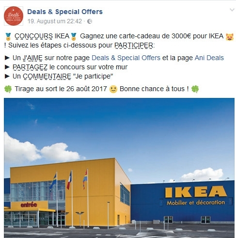 SAW RADIO IKEA GEWINNSPIEL