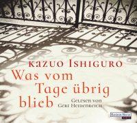 Was vom Tage uebrig blieb von Kazuo Ishiguro