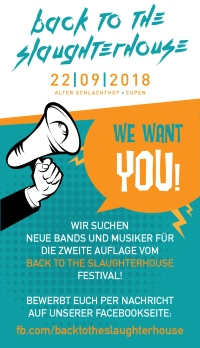 BTTS WE WANT YOU 22.9.2018