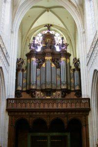 Historische Schyven-Orgel der Kathedrale Antwerpen durch Orgelbau Schumacher restauriert