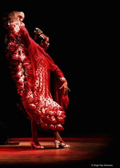 Flamenco-Tänzerin Saïdjah Galo (Foto: Hugo Van Beveren)