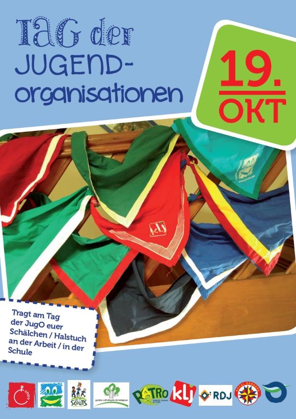 Tag der Jugendorganisationen 19.10.2018 Flyer