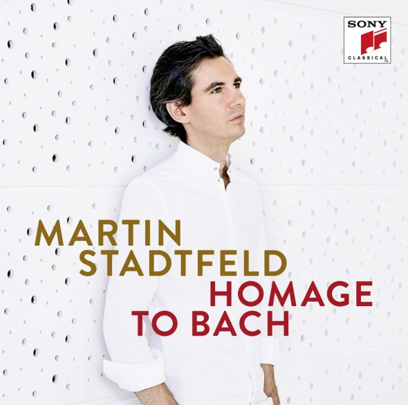 """Martin Stadtfeld: """"Homage to Bach"""" (Cover: Sony Classical)"""
