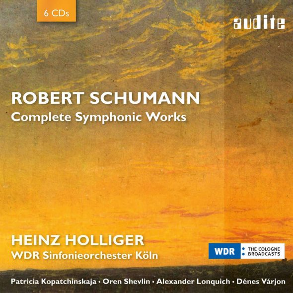 Robert Schumann: Complete Symphonic Works (Cover: Audite)