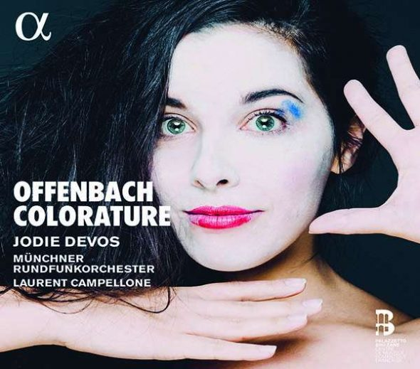 Jodie Devos: Offenbach Colorature (Cover: Alpha)