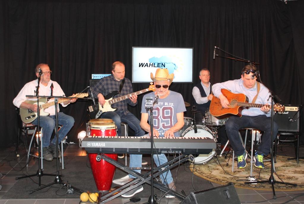 Eupener Musikband Crazy Mama (Foto: Renate Ducomble, BRF)