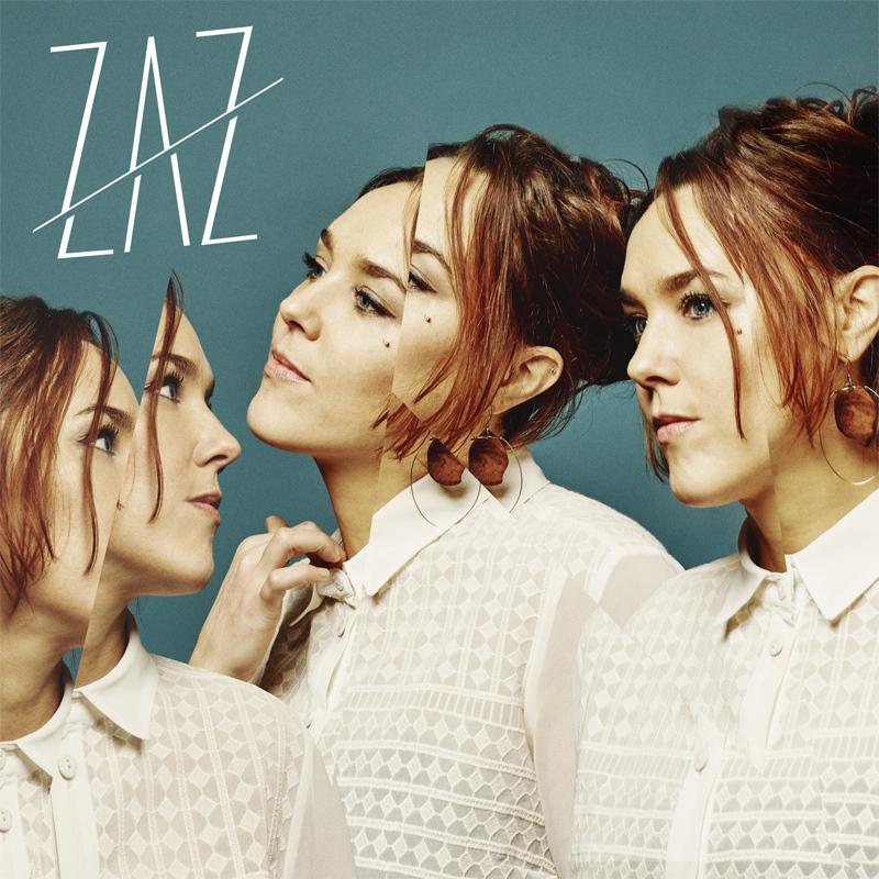 """Zaz CD-Cover """"Effet Miroir"""""""