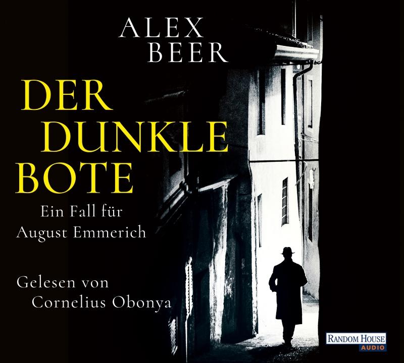 """Hörbuch """"Der dunke Bote"""" von Alex Beer (Random House Audio Verlag)"""