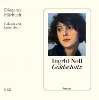 Ingrid Noll: Goldschatz (Hörbuch-Cover: Diogenes Verlag)