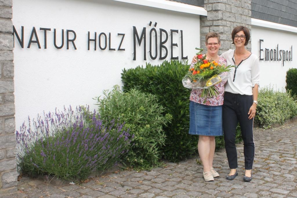 Raumpflegeaktion 2019: Monika und Chefin Denise Emontspool (Foto: BRF)