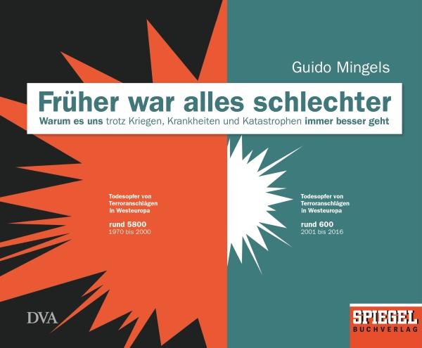 """Buchcover """"Früher war alles schlechter"""" von Guido Mingels"""