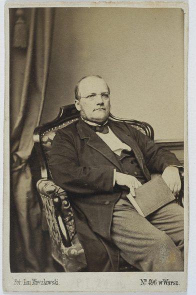 Stanislaw Moniuszko 1865 in Warschau (Bild: Jan Mieczkowski)