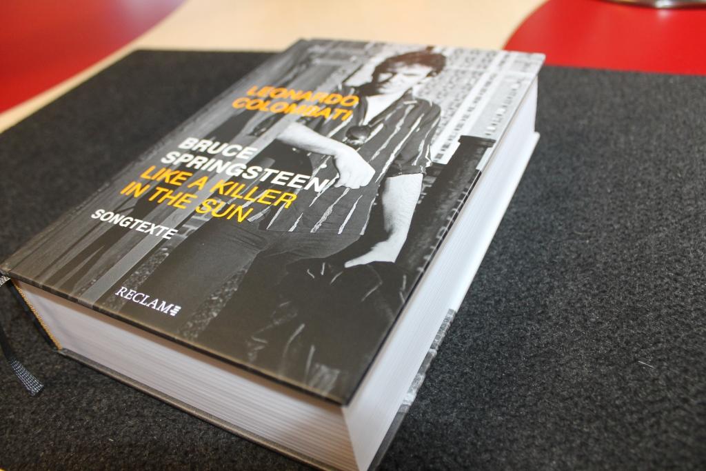"""Buchvorstellung """"Bruce Springsteen Like a Killer in the Sun"""" (Reclam Verlag)"""