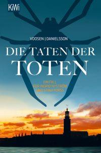 Roman Voosen/ Kerstin Danielsson: Die Taten der Toten (Buchcover: Kiepenheuer & Witsch Verlag)