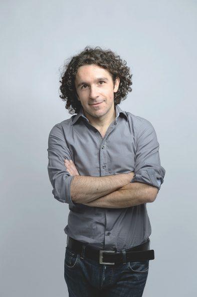 Marco Balzano (Bild: Geri Krischker/Diogenes Verlag)