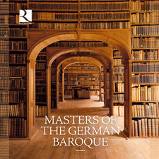 Masters of the german baroque (Cover: Ricercar)