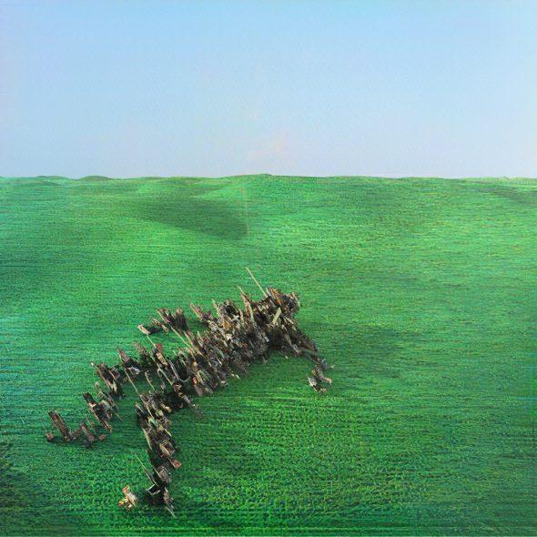 """Bright Green Field"" von Squid (Cover: Warp Records)"