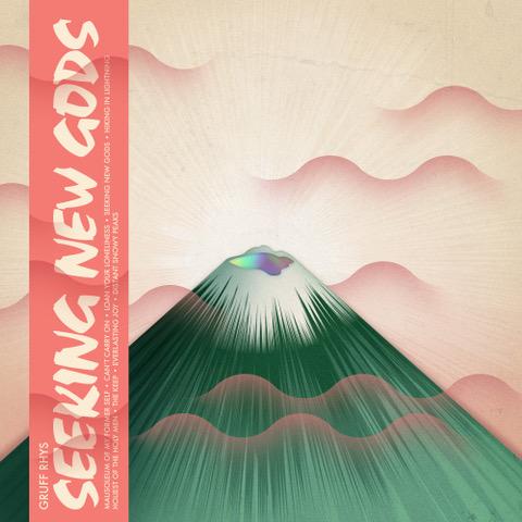 """Seeking New Gods"" von Gruff Rhys (Cover: Rough Trade Records)"